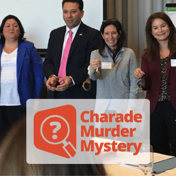 Charade Team Murder Mystery Event